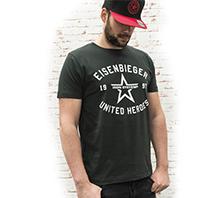 IRON SYSTEM® Basic Shirt Eisenbieger, male, ash black