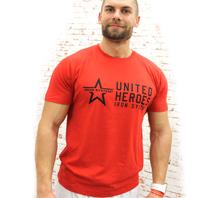 IRON SYSTEM® Basic Shirt HERO, male, red
